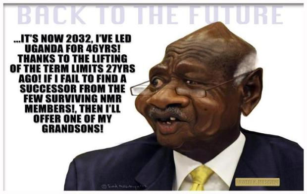 This is how M7 will look if we dont restore term limits according to UAH's Hannah Ogwapiti