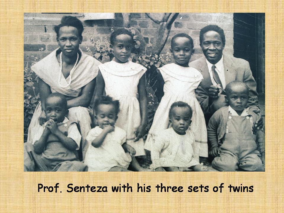 kajubi with his twins