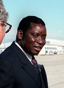 The late president of Togo Gnassingbe Eyadema, who later was succeeded by his son Faure