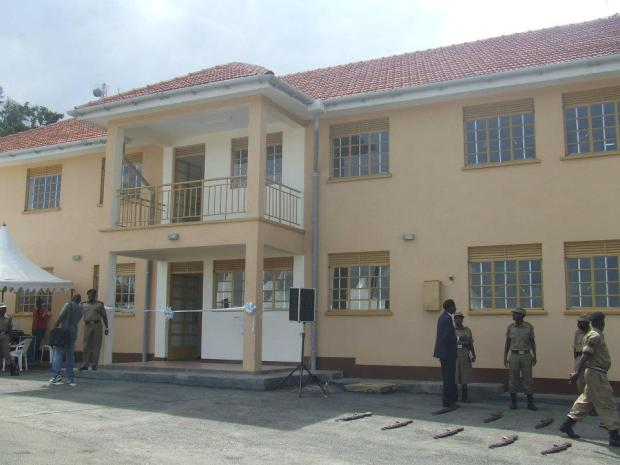 Another Kayihura achievement:New police station building in Bushenyi!