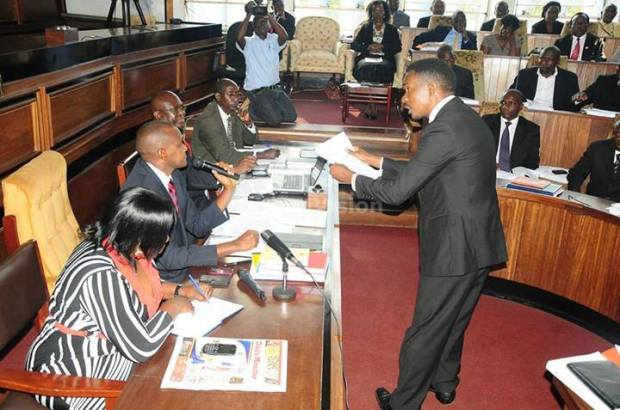 This is Councillor Allan Ssewanyana serving the court order to Frank Frank K Tumwebaze. Is there any more proof you need?