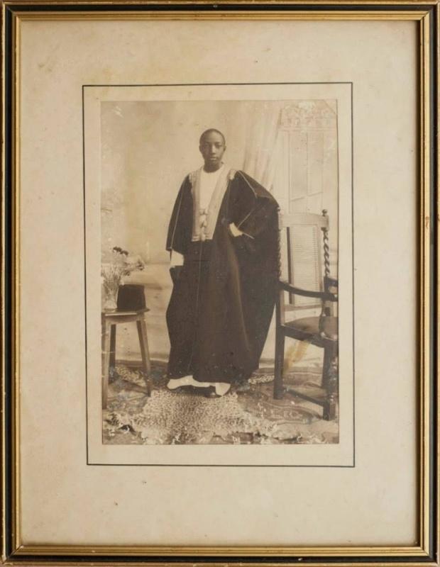 A young Kabaka Daudi Chwa.