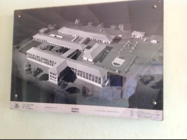 Kayunga hospital architectural impression but the NRMs have destroyed it without any mercy