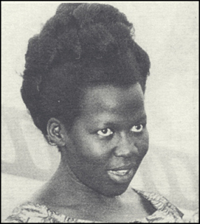 Kay Amin, Idi Amin's fourth wife who was found dismembered in 1974