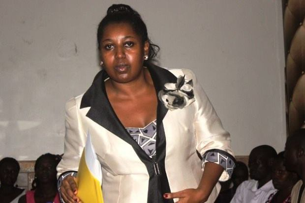Baby faced Sarah Kagingo who handles the president's social media platforms