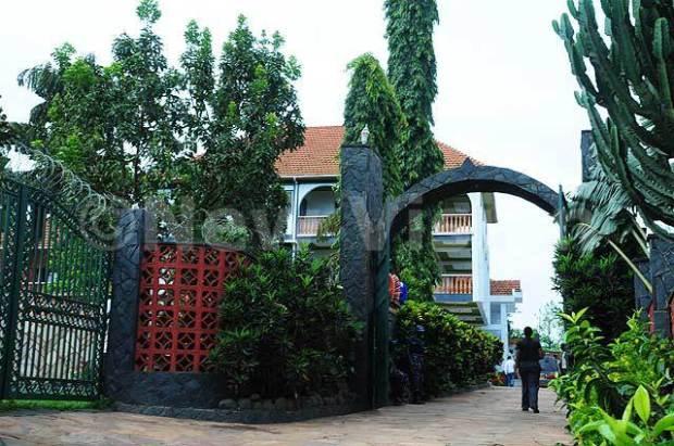 Eria Ssebunya Bugembe's house in Muyenga