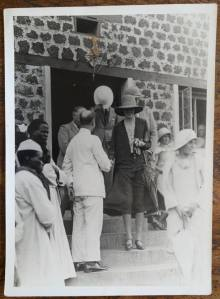 At the opening of Mukono Hospital (Lady Stanley Hospital).' Photograph by Dr. A.T. Schofield. 1931