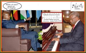 Mbabazi ignores Museveni because of Frank Tumwebaze's nonsense on BBC!